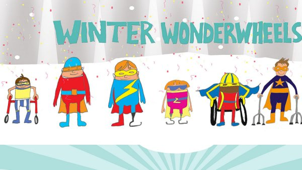 Illustration of Winter Wonderwheels